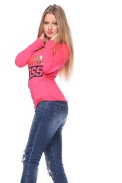 Hosszú ujjú felső - Hot Pink