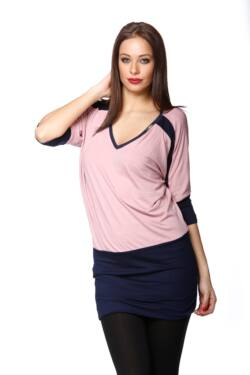 Mini ruha - Dark Blue - Dusty Rose