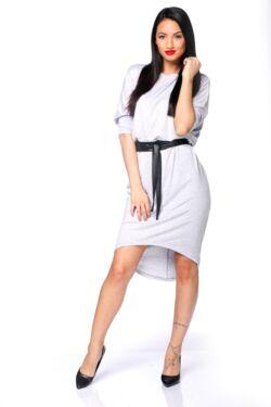3/4-es mini ruha - Melange Grey