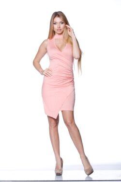 Mini ruha - Peach