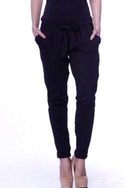Megkötős nadrág - Black