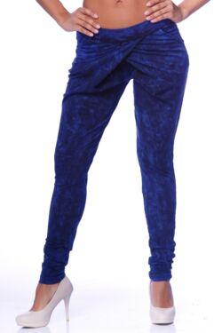 Batikolt átlapolós nadrág - Dark Blue