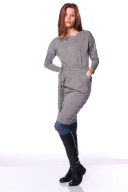 Midi ruha - Dark Grey