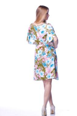 Megkötős derékú mini ruha