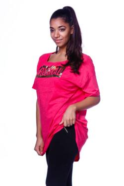 Laza mini ruha - Hot Pink