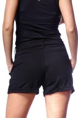 zsebes rövid nadrág - Black