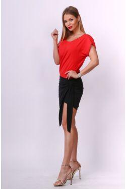 Mini ruha - Black - Red