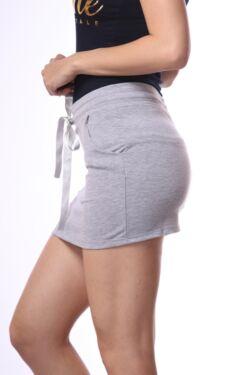 Mini szoknya - Melange Grey