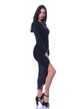 Midi ruha - Black