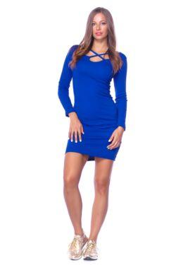 Mini ruha - Rolyal Blue