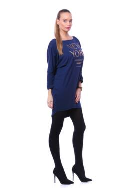 Laza mini ruha - Dark Blue