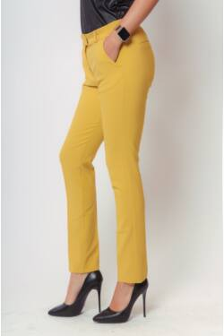 Elegáns nadrágok - Mustard
