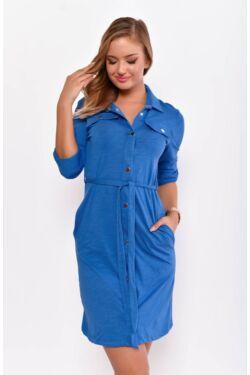 Megkötős ing ruha - Rolyal Blue