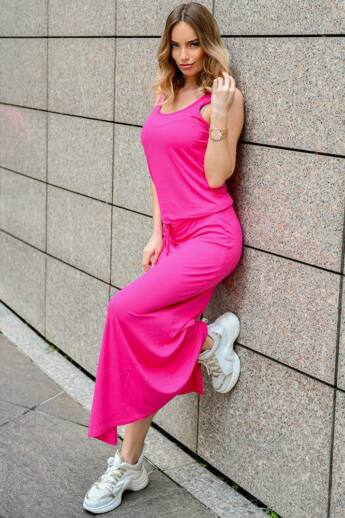 Maxi ruha - Hot Pink