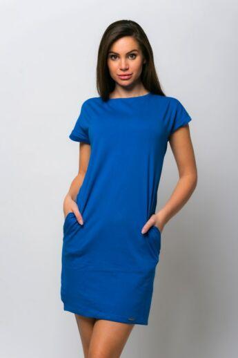Oldalzsebes mini ruha - Rolyal Blue