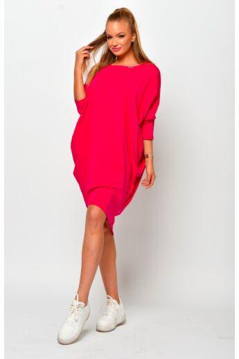 Bő szabású ruha - Fuschia