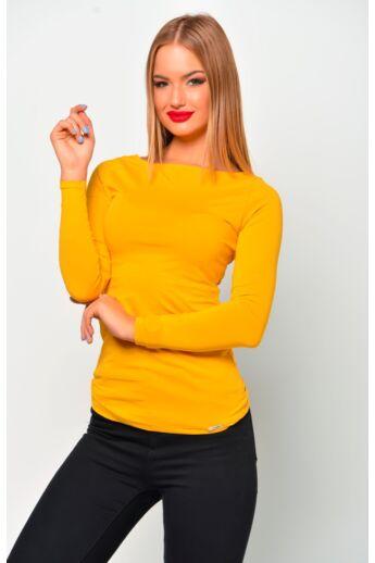 Hosszú ujjú felső - Mustard