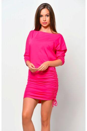 lezser viselet mini ruha - Fuschia