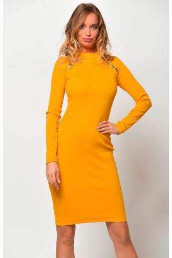 Gombos ruha - Mustard
