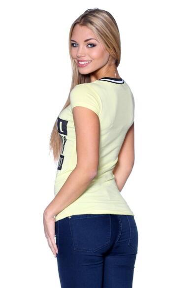 Graphic T-shirt Yellow