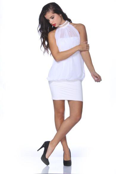 Mini ruha - White