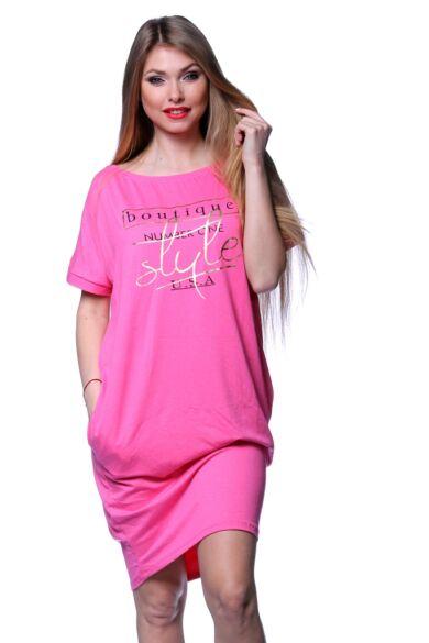 Laza felső - Hot Pink