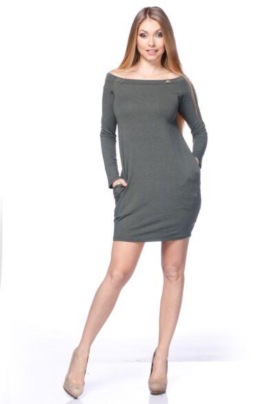 Mini ruha - Khaki