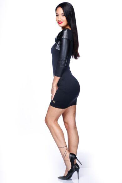 Mini ruha - Black - Black