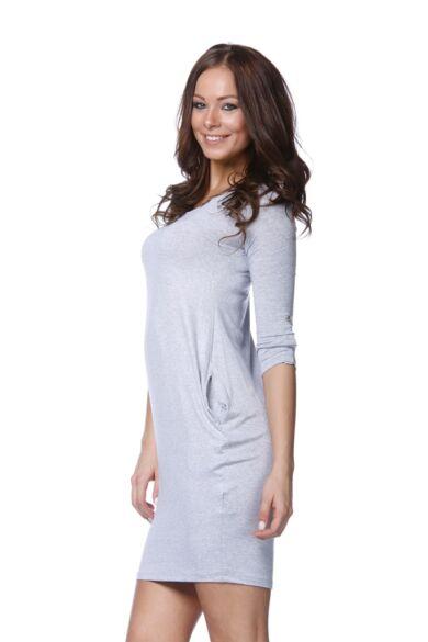 Mini ruha - Melange Grey
