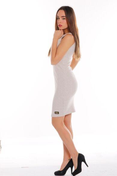Mini ruha - Melange Beige