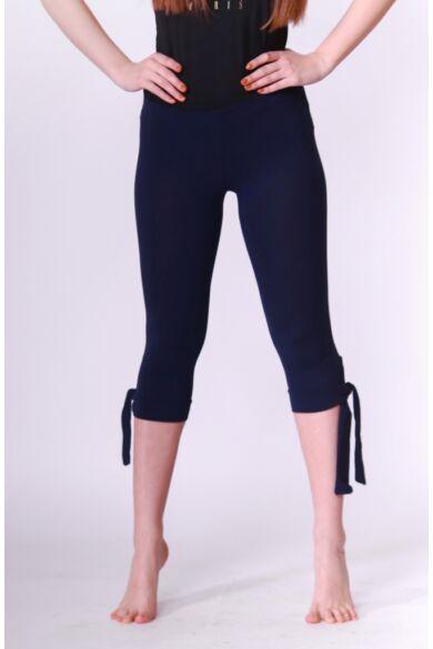 Kötős halász leggings - Dark Blue