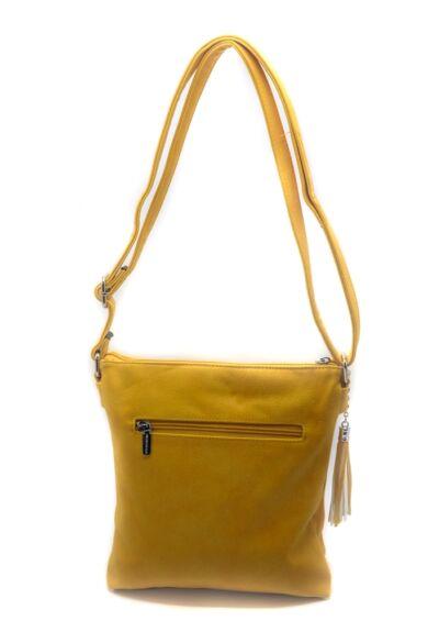 Cipzáras Shopper Táska - Yellow