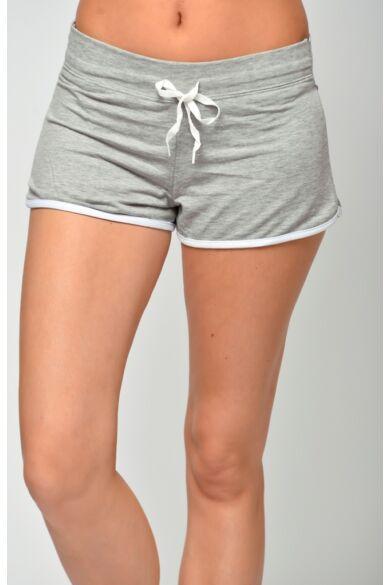 Pamut rövid nadrág - Melange Grey