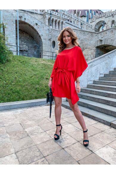 Kaftán mini ruha - Red