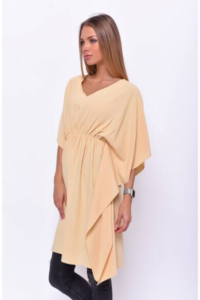 Kaftán mini ruha - Yellow