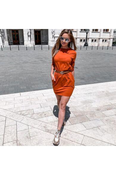 Oldalzsebes mini ruha - Cinnamon