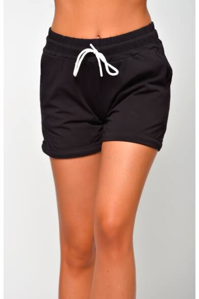Pamut rövid nadrág - Black