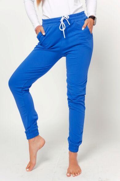 Passzés aljú szabadidő nadrág - Rolyal Blue