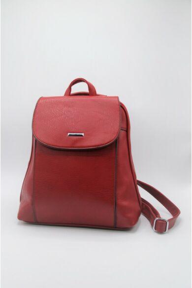 Bőrhatású hátizsák - Red