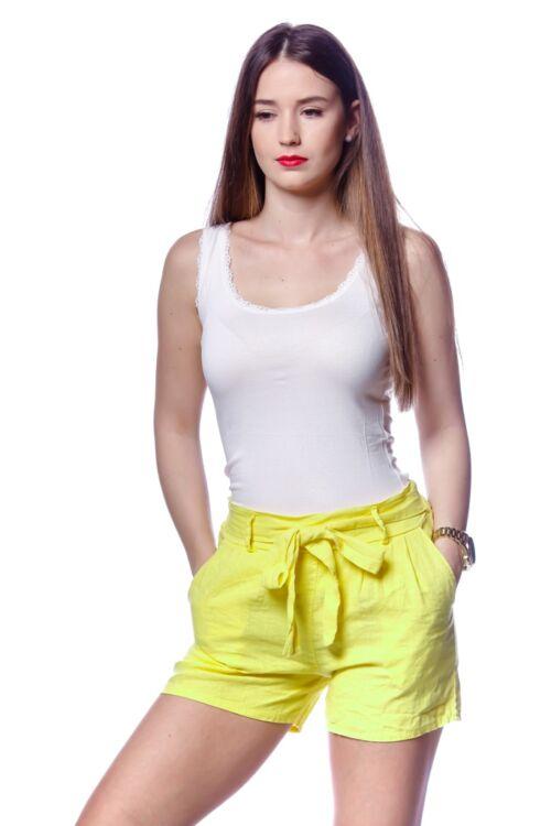 Sort megkötős övvel - Yellow