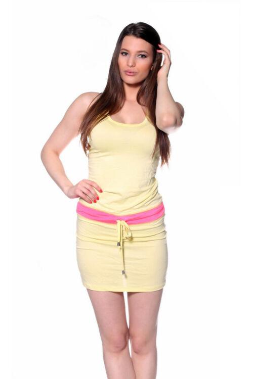 Ruha - Pastel Yellow Neon Pink