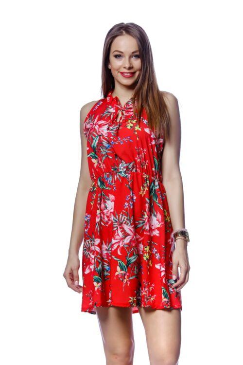 Virágmintás - Red Floral Print