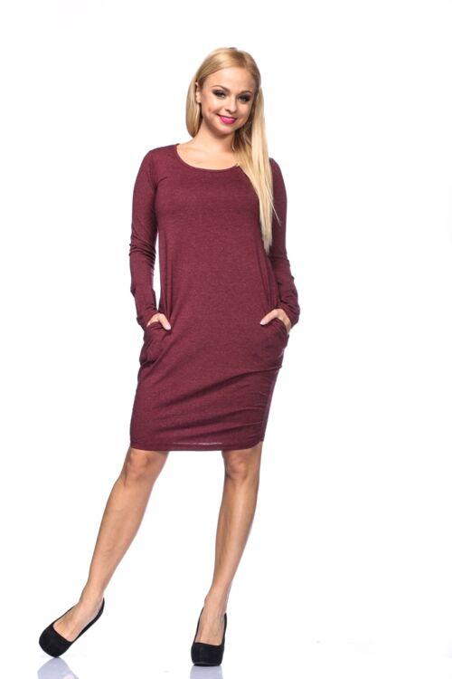 Mini ruha - Bordeaux