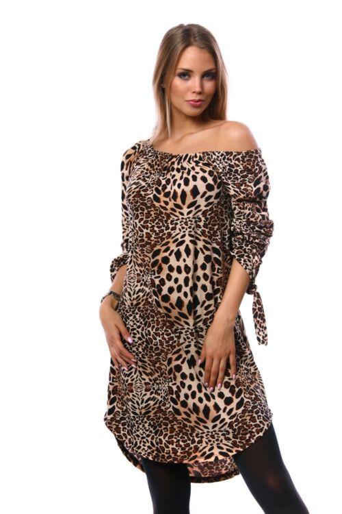 Mini ruha - Animal print 3