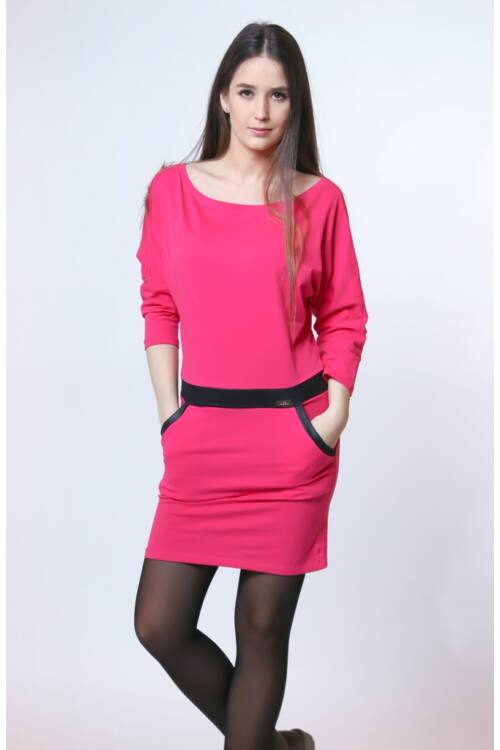 Mini ruha - Hot Pink