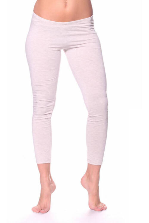 Leggings - Melange Beige