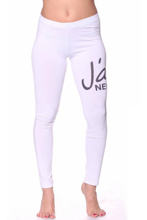 Leggings - White Black
