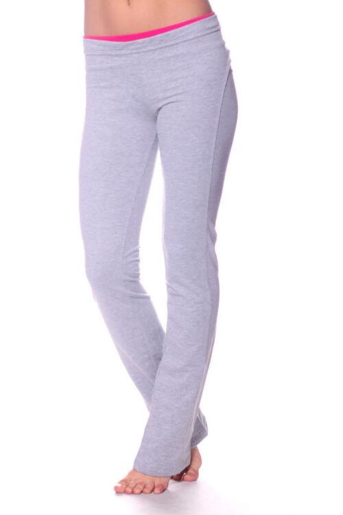 Szabadidő nadrág - Melange Grey Pink