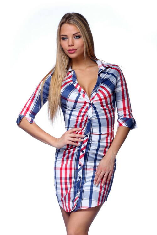 Ing ruha - Blue - White - Red